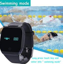Yamay Smart Fitness ceas cu rezistență la apă iOS Android