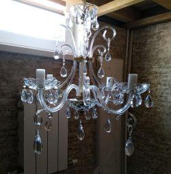 Chandelier Czech 4 lamps
