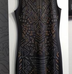 Сукня зі стразами з двох сторін