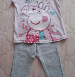 Tricou + pantaloni pentru 2-3 ani