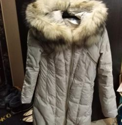 Down jacket size 40-42-44, wore 3 times