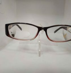 F8072 eyewear transparent with diopter