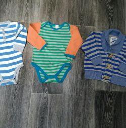 Ρούχα για ένα αγόρι 9-18 μήνες