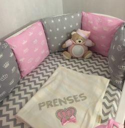Детские бортики в кроватку новые