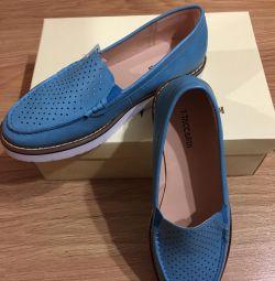 Mocasinile pentru pantofi sunt noi