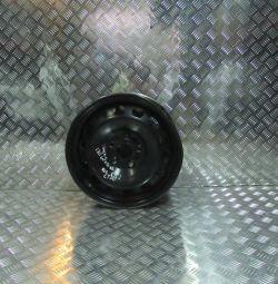 Disc stamped R16 6.1 / 2J ET50 Volkswagen Jetta 6 oem 1K0601027BE (cl-3)