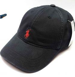 Șapcă de baseball polo Ralph Lauren (negru / roșu)