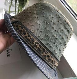 шляпа джинсовая унисекс