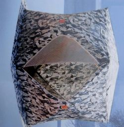 Tent for winter fishing a cube 2 camouflage