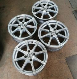 Set of alloy wheels 4 98 by 14