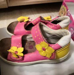 Sandale din piele kotofey 27 r