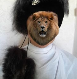 Καπέλο - πραγματική γούνα