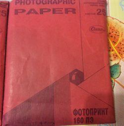 Hârtie fotografică