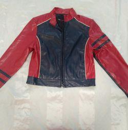Куртка коженка женская м