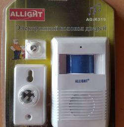 Датчик электронный колокол дверей