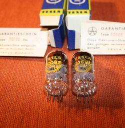 Radio tubes Tesla ECC88, 6P3S and others