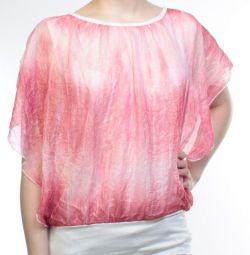 Women's blouse (95% cotton, 5% elastane)