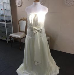 Wedding dress big size as a gift earrings