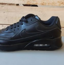 Women's and men's leather sneakers