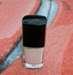 milky nail polish