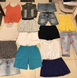 many different clothes