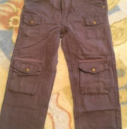 Pantaloni de 7-8 ani