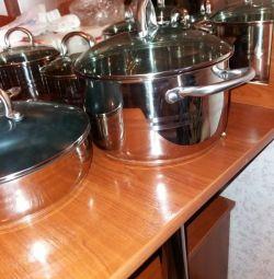 Set of pots without bargaining