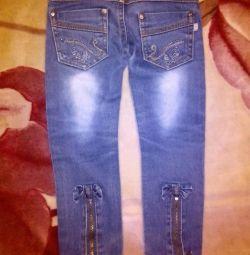 Jeans pentru 2-3g