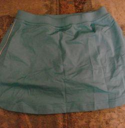 Спортивная юбка-шорты. На 10-12 лет.Рост-140.