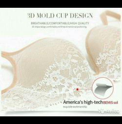 Classy pitted bra 70 V