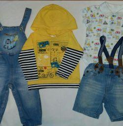 Комплекты одежды на мальчика 1-1.5 года
