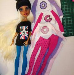 Ρούχα για κούκλες Monster υψηλής σχεδίασης ραμμένο δώρο