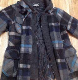 Coat pentru un băiat de 5-7 ani.