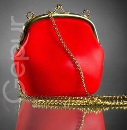 Small rubber handbag