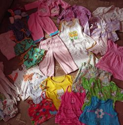 Things package 1-2years for a girl