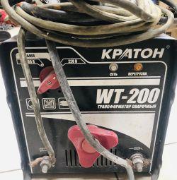 Welding machine Kraton WT-200 + wires