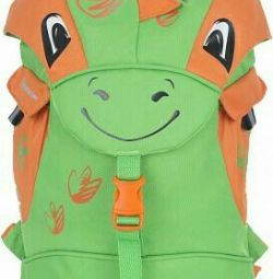 New funny kids backpack in the shape of a dinosaur