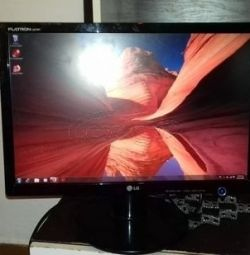LG FLATRON L207WT 20 '' SCREEN MACHINE IN EXCELLENT SITUATION