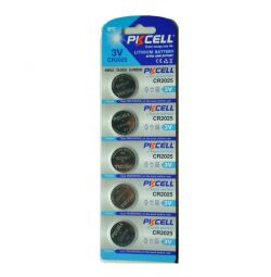 Lityum pil CR2025 3V pkcell