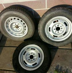 wheels R13