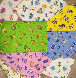 New Diaper Flannel
