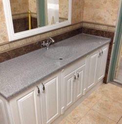 Artificial stone washbasins