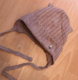 Çocuklar için kışlık şapka