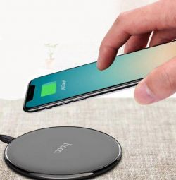 Wireless charging Hoco CW6 black