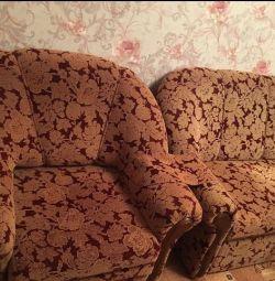 Sofa with an armchair!