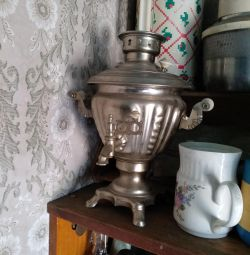 The samovar is electric