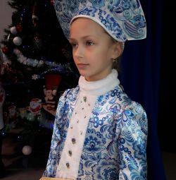 Noel kıyafeti Kar Maiden ❤