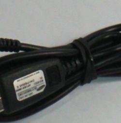 USB cable for Samsung apcbs10BBE original