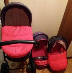 Baby carriage Zippi 3in1, used in good condition