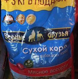Корм для собак всех пород 18кг Верные друзья